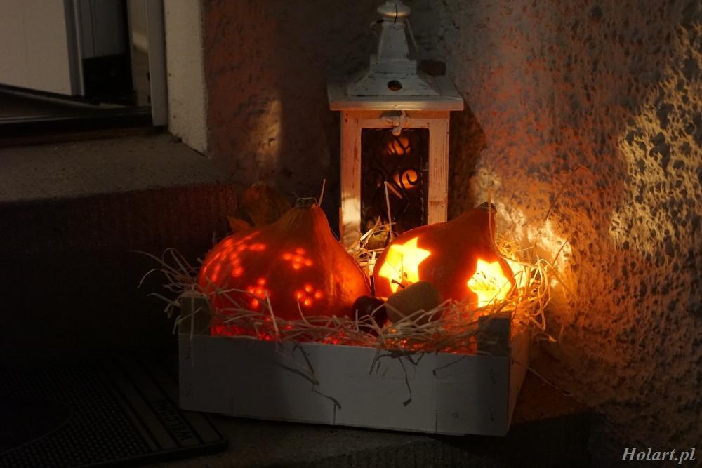 jak zrobić lampion z dyni na halloween