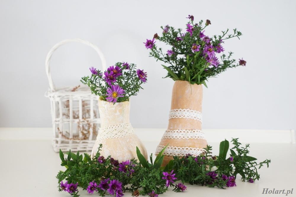 jak zrobić wazon z dyni