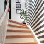 korytarz w stylu black & white