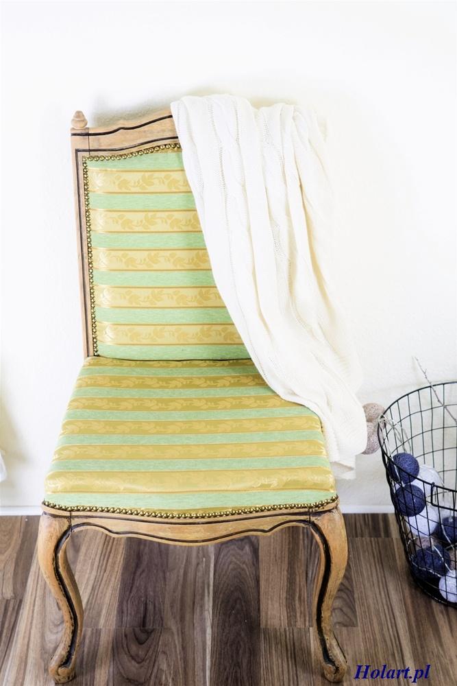 jak odnowić stare krzesło, DIY