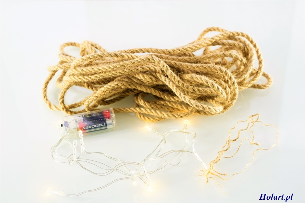 jak wykorzystać sznurek z juty,dekoracje, DIY