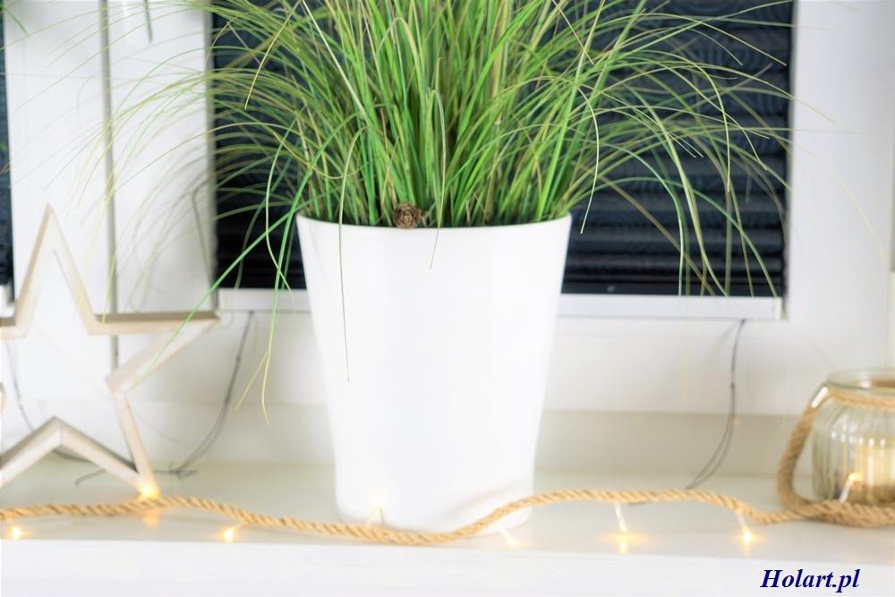fantazyjne światełka na sznurku z juty,dekoracje