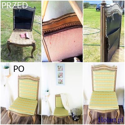 DIY,odnawianie krzeseł