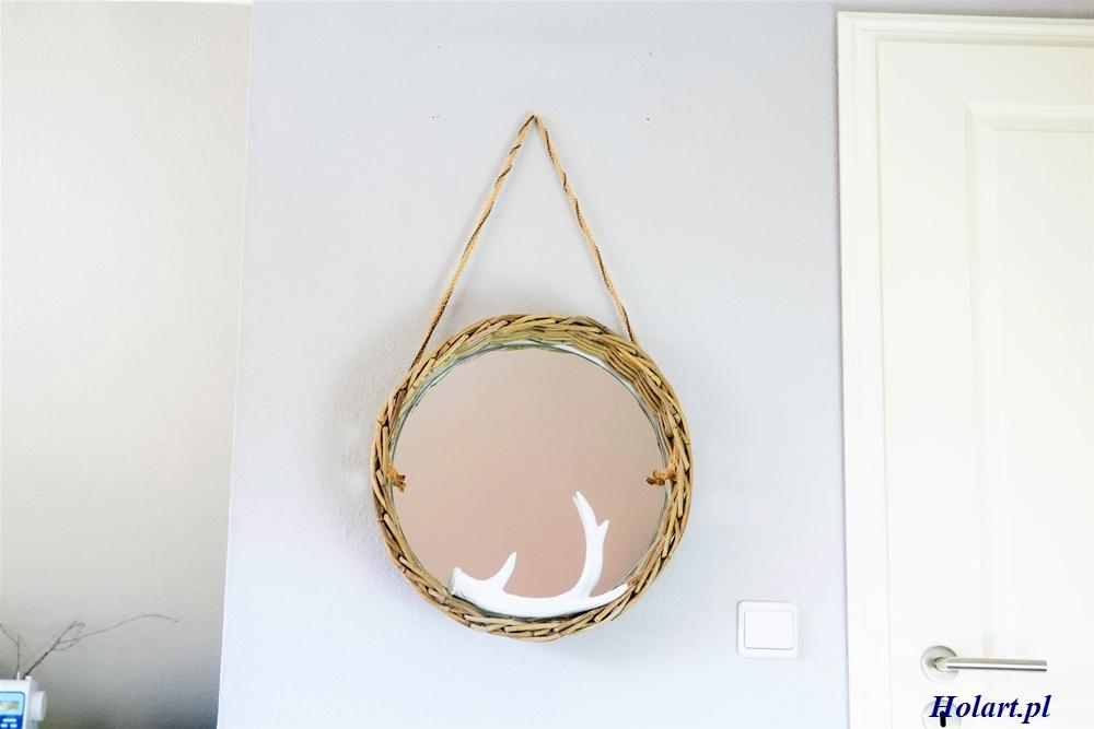 wiszące lustro,diy