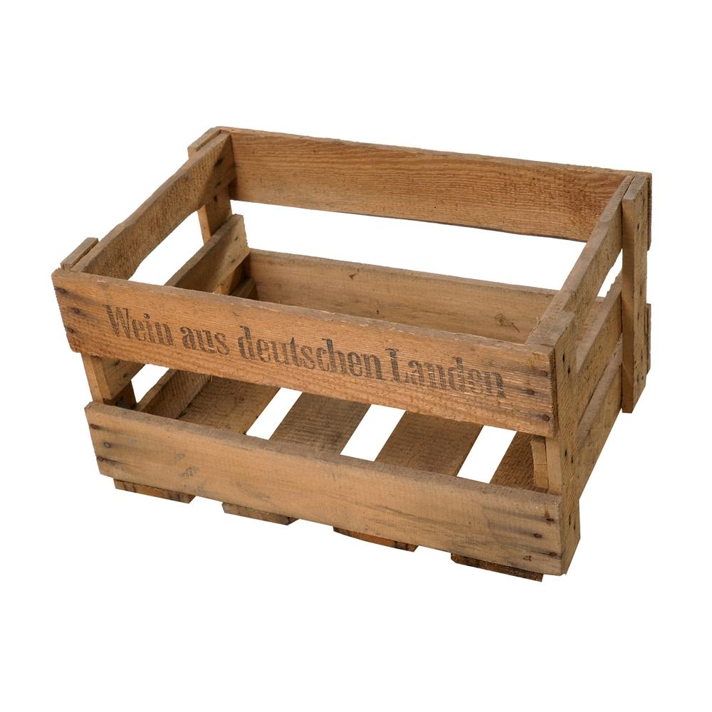 szafka ze starej drewnianej skrzynki,upcycling